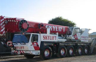130T Crane - Cranes for Hire Melbourne